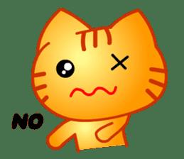 Tomo's Cute Cat Tiger (English) sticker #5513031
