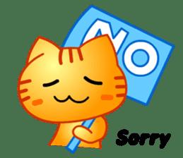 Tomo's Cute Cat Tiger (English) sticker #5513032