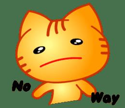 Tomo's Cute Cat Tiger (English) sticker #5513033