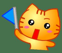 Tomo's Cute Cat Tiger (English) sticker #5513045