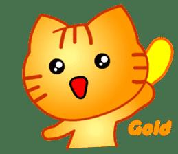 Tomo's Cute Cat Tiger (English) sticker #5513046
