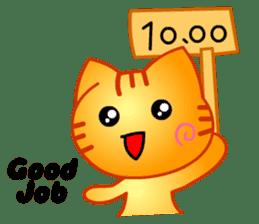 Tomo's Cute Cat Tiger (English) sticker #5513062