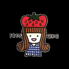 果物ガール