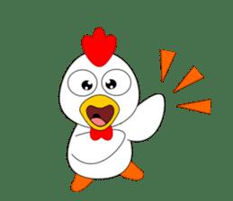 Always cheerful chicken sticker #5534540