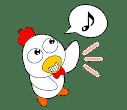 Always cheerful chicken sticker #5534542