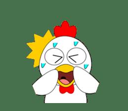 Always cheerful chicken sticker #5534548