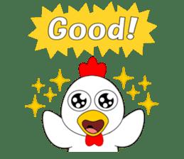 Always cheerful chicken sticker #5534550