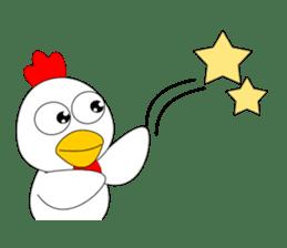 Always cheerful chicken sticker #5534552