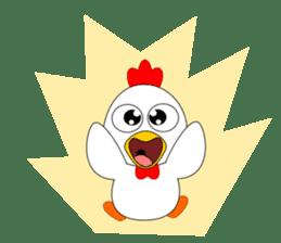 Always cheerful chicken sticker #5534553