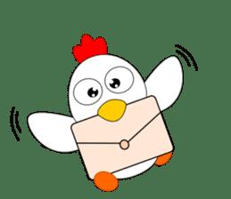 Always cheerful chicken sticker #5534556