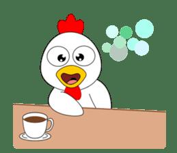 Always cheerful chicken sticker #5534559
