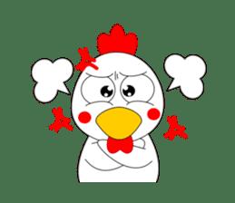 Always cheerful chicken sticker #5534562