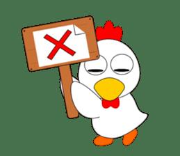 Always cheerful chicken sticker #5534566
