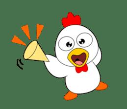 Always cheerful chicken sticker #5534577
