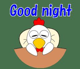 Always cheerful chicken sticker #5534578