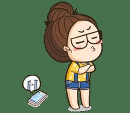 TuaGom : a little cute girl 2 sticker #5534835
