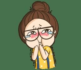 TuaGom : a little cute girl 2 sticker #5534837