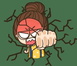TuaGom : a little cute girl 2 sticker #5534843