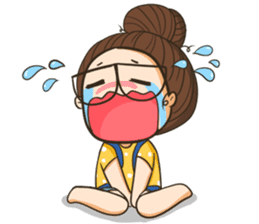 TuaGom : a little cute girl 2 sticker #5534845