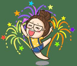 TuaGom : a little cute girl 2 sticker #5534855