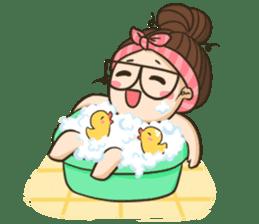 TuaGom : a little cute girl 2 sticker #5534856
