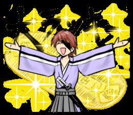 Gedo Samurai sticker #5554198