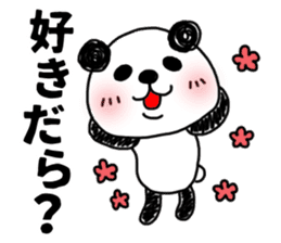 MIKAWABEN sticker PANDAPAN. sticker #5554361