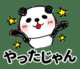 MIKAWABEN sticker PANDAPAN. sticker #5554385