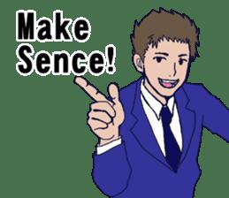Buzzword salaryman TAKAHASHI sticker #5554504