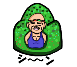 yoga.  mr.damatti sticker #5555257