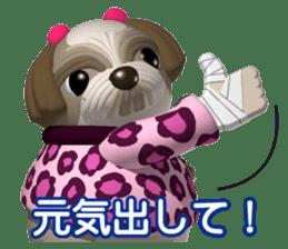 Funny Shih-Tzu 2 sticker #5556749