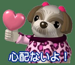 Funny Shih-Tzu 2 sticker #5556750