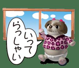 Funny Shih-Tzu 2 sticker #5556753