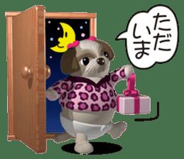 Funny Shih-Tzu 2 sticker #5556754
