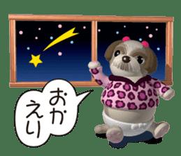 Funny Shih-Tzu 2 sticker #5556755