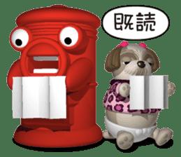 Funny Shih-Tzu 2 sticker #5556760