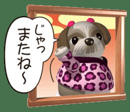Funny Shih-Tzu 2 sticker #5556779