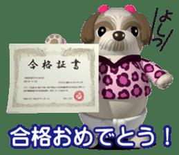 Funny Shih-Tzu 2 sticker #5556783
