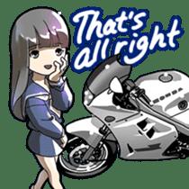 MotorcycleVol.9(English) sticker #5558673