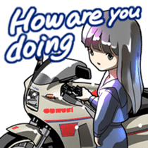 MotorcycleVol.9(English) sticker #5558696