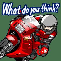 MotorcycleVol.9(English) sticker #5558705