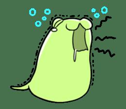 Unidentified organisms Motchimochi Alpha sticker #5559487