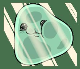 Unidentified organisms Motchimochi Alpha sticker #5559500