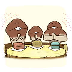 Funghi Manga Sticker 2