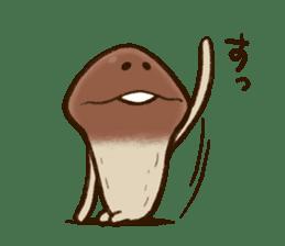 Funghi Manga Sticker 2 sticker #5563399
