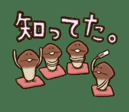 Funghi Manga Sticker 2 sticker #5563403