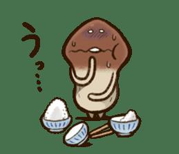 Funghi Manga Sticker 2 sticker #5563406