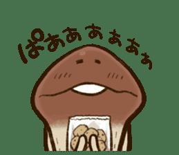 Funghi Manga Sticker 2 sticker #5563418