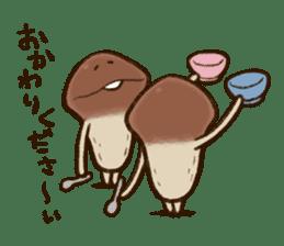 Funghi Manga Sticker 2 sticker #5563419