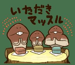 Funghi Manga Sticker 2 sticker #5563426